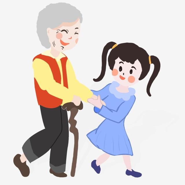 cruzando abuela